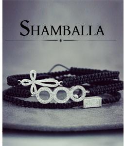 Sznurkowe plecione bransoletki shambala i makrama