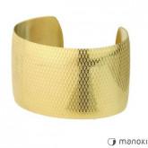 BA168G piękna bransoletka damska z złotym kolorze