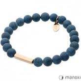 BA313RJ bransoletka damska z lapis lazuli, jeansowa