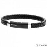 BA339B czarna bransoletka