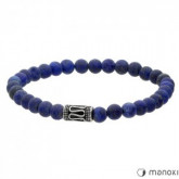 BA416J niebieska bransoletka męska lapis lazuli