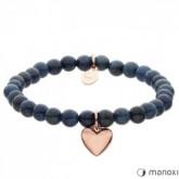 BA436RJ niebieska bransoletka damska z kamieni naturalnych