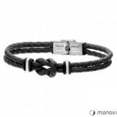 BA590B czarna bransoletka