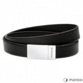 BA595B czarna bransoletka