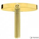 BA621G złota bransoletka damska z chwostem