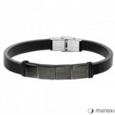 BA657B czarna bransoletka