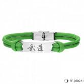 BA711Z zielona bransoletka