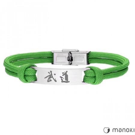 BA711Z zielona bransoletka BUDO