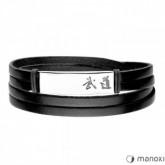 BA713B czarna bransoleta