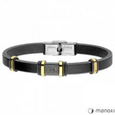 BA715 czarna bransoleta