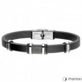 BA717B czarna bransoleta