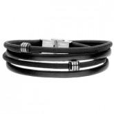BA755B czarna bransoletka