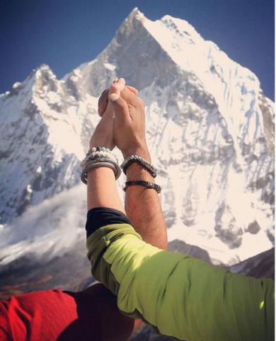 Bransoletki Manoki w Himalajach