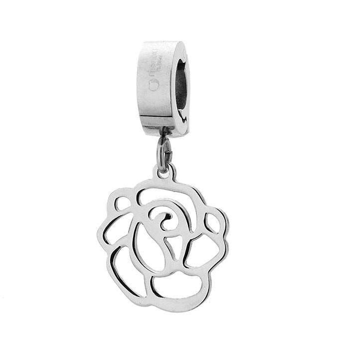 Charms w kształcie róży