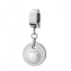 Charms z medalikiem, logo Manoki
