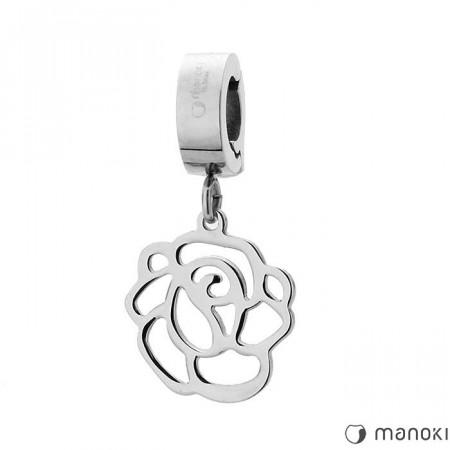 HA008 charms w kształcie róży