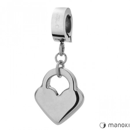 HA020 charms w kształcie serca
