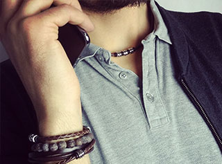 biżuteria męska i brnsoletki meskie