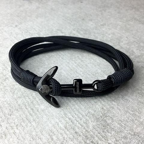 bransoletka z personalizowana kotwica