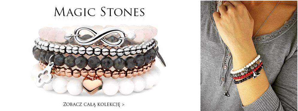 bransoletki z kamieniami naturalnymi i charmsami