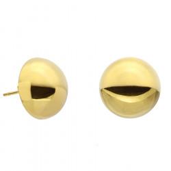 Kolczyki damskie w złotym kolorze