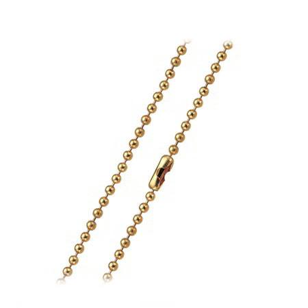 LA005R łańcuszek z kuleczek ze stal szlachetnej, różowe złoto