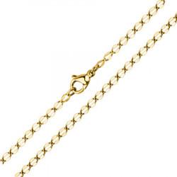 Łańcuszek z hipoalergicznej stali, kolor złoty