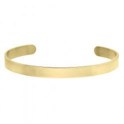 Minimalistyczna pozłacana bransoletka do personalizacji stal szlachetna
