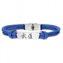 Niebieska bransoletka BUDO