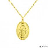 WA429G złoty medalik z Matką Boską
