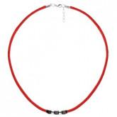 WA463C czerwony naszyjnik