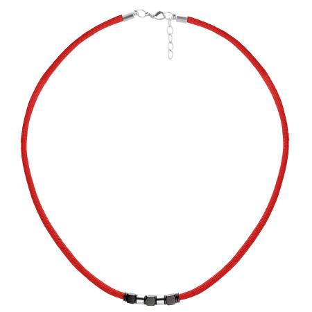 WA463C czerwony naszyjnik symbol szczęścia