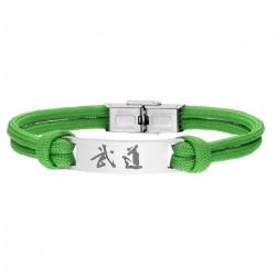Zielona bransoletka BUDO