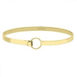złota minimalistyczna bransoleta