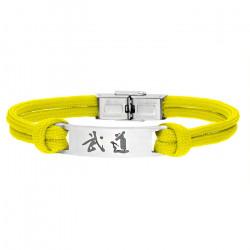 Żółta bransoleta BUDO